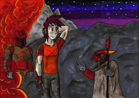Kenji, the Master of Fire - Re-Birth Chronicles by KrytenMarkGen-0