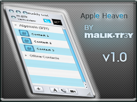 Apple Heaven for Trillian 3.0 by malik-trey