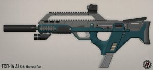 TCO-14 A1 Sub Machine Gun by MikomDude