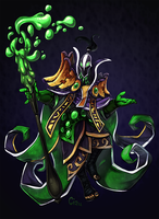 Dota2Collab - Rubick by Cizu