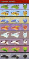 Dragon Horn Types Part1 by Araless