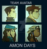 Legend of Korra: Amon Days by CharlieOleChap