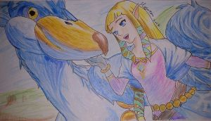Zelda: Skyward Sword by Meya-san