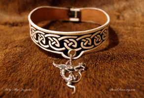 Sigridr choker - viking age art inspired by adalheidis