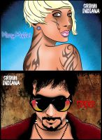 Grimm, Indiana-Whore and Pimp by craigdeboard111