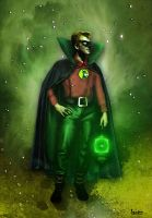 Golden Age Green Lantern by archeon