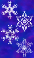 Even More Snowflakes by white-tigress-12158