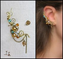 Treasures of the fall ear cuff by JSjewelry