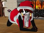 Panda Claus by necronlord666