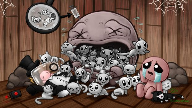 The Binding of Meat-Genics by Tikara-the-Mew