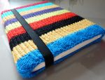 Rainbow laptop sleeve by Martice