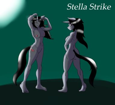 Stella showing off by Magra123