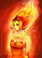 Flame Princess by Dudalen