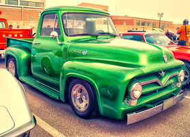 Classic Ford F-100 Truck by Neko-CosmicKitty