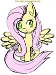 Patreon reward - Fluttershy by Cyane-ei