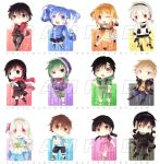 Kagerou Project Keychain Designs by laliluleloha