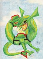 Rayquaza by chocolatetater-tot