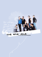 We Are One by la2bluey