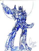 Optimus Prime by winddragon24