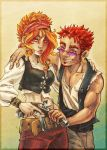 Don't mess with the red heads by SybLaTortue