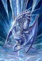 Ice Dragon - Ironshod by elite-dragons
