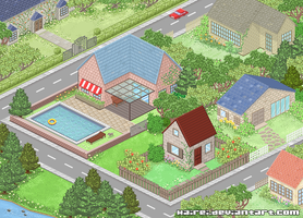 Pixel Town by Hairei