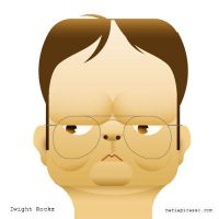 The Office:  Dwight by lllaria