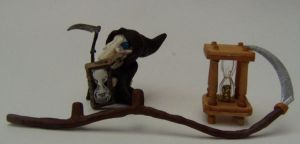 OOAK Discworld Death 1 by eponyart