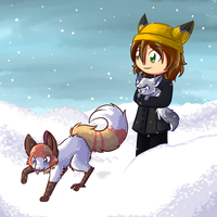 Walking in a winter wonderland by CrispyCh0colate