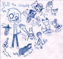 Bill The Canable and Friends by UniYuki
