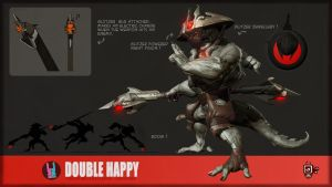 Double Happy Creature Challenge Entry by VertexBee