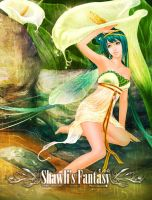 Flower Fairies collection - Calla Lily Fairy by shawli2007