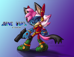 Collab: Zoey Zone Cops by Liittlemadness