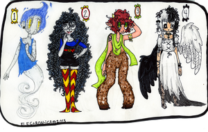 ::Mystical Creature Point Adopts:: {CLOOOSED!!} by huzzellzebub