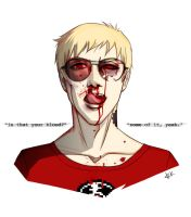 fight club - dave strider by jigenbakudan