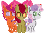 Cutie Bow Creatures Forever by Squipy-Cheetah
