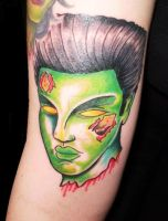 Zombie Tattoo by Vicki-Death