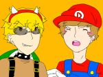 [Otaku Story Animation] Super Dani Bros. (LINK) by irenereru