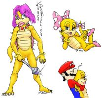 Wendy O. Koopa: Color Triple-Threat by ScourgeYZ
