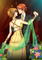 Persona 4 - Yosuke and Chie by CarmenMCS