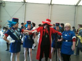 Alucard gets Caught by LON3LYPRINCE86