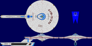 USS Cygnus Refit Multi-View by captshade