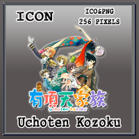 Uchoten Kozoku Icon by Myk-2103