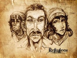Refugees by K-taru
