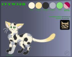 Ivywish the Cat - Reference by Marcella-Youko