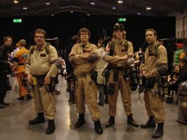 MCM Telford Feb 2012 - GhostBusters by Ookamiaku