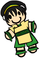 Toph Plushie by LollyxBeans