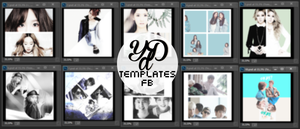 Templates FB Posts Pack #1 by LittleMirr
