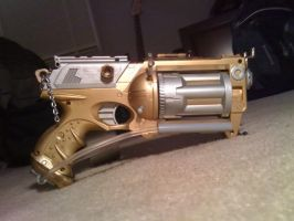 Steam Punk Gun by Euripides-the-great