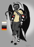 Objecthead Harpy Adopt (Custom Commission) by CannibalHarpy